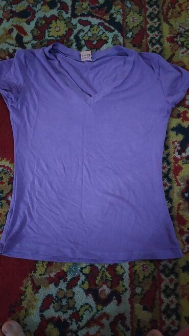 Турецкая футболка ткань приятная размер s-m тянется