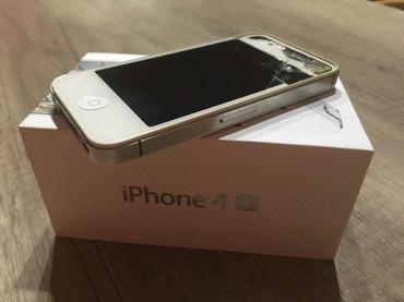 Apple Iphone - Kragujevac: Iphon 4s 16 gb, u radnom stanju, bez icloud naloga.sreman za novog