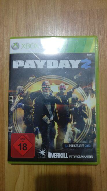 Xbox 360 & Xbox | Srbija: Payday 2 Xbox 360  Polovna igra za Xbox 360 koja je testirana i potpun