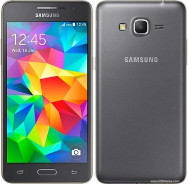 Смартфон samsung galaxy grand prime sm-g531h gray имеет тонкий корпус  в Бишкек