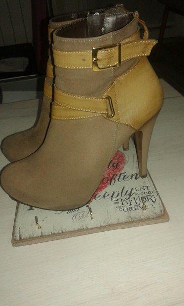 Cipele polučizmice kao nove jednom obuvene,piše 39 ali odgovaraju - Beograd