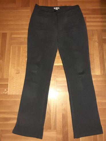 •pogledajte i ostale moje oglaseTamno sive lastex pantalone (štof)Vel