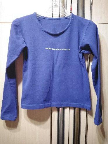 Majica rukavacine - Srbija: Benetton majica pamučna  Veličina 36 xs Cena 150 din