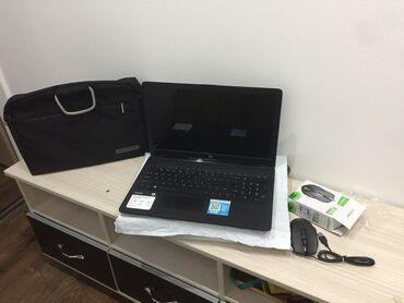 Ноутбук новый,полный комплект зарядка+мышка+упаковка+сумка, идеальный