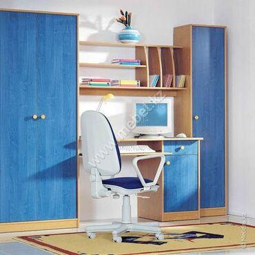 Продаю б/у мебель Детская «Канди», материал ЛДСП. Удобная, компактная