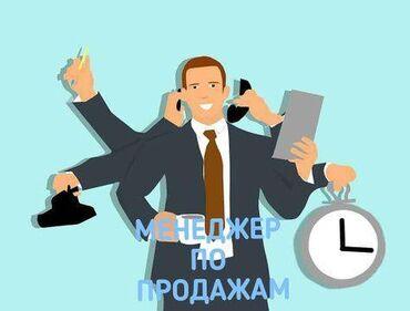Онлайн работы в интернете - Кыргызстан: Менеджер по продажам. С опытом. 6/1. Юг-2