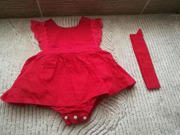 Ostala dečija odeća | Novi Pazar: Kompleti kao novi, noseni jednom samo za slikanje. Crveni odgovara