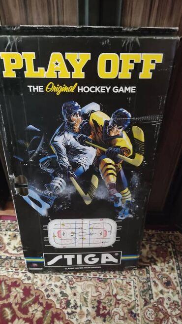 11188 объявлений: Продаем настольный хоккей Размер 87 х48 см. Имеются ножки-подставки