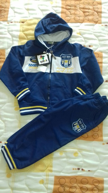 Ostala dečija odeća | Smederevo: Nova trenerka za decaka,sa etiketom. Velicina 4