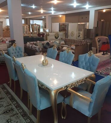 anbar - Azərbaycan: Masa ve oturacaq desti stol stullar стол с стулями orginal. fabrik