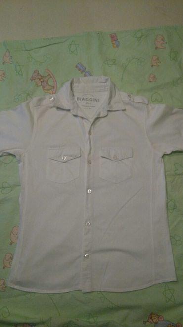 Biaggini muska bela košulja sa kratkim rukavima bez ostecenja vel - Smederevo