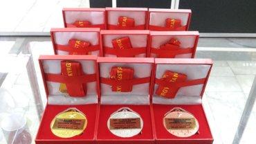 Печать на медалях. Индивидуальные в Бишкек