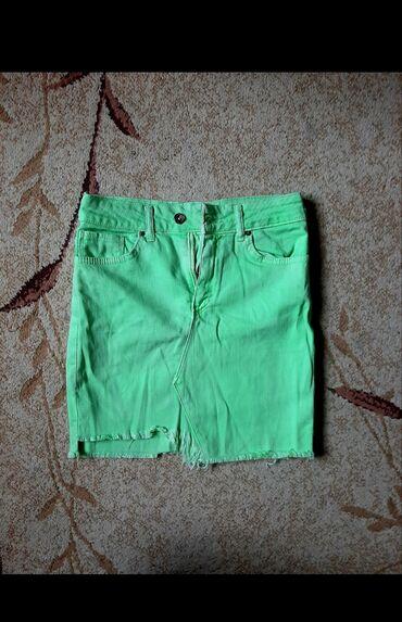Neon teksas suknja vel m,kao nova