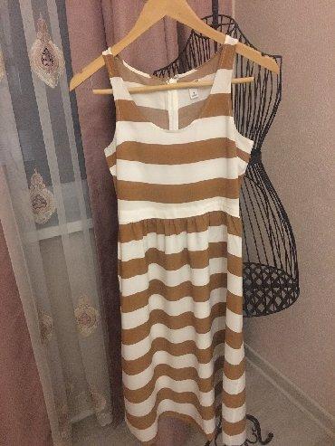 бежевое платье в пол в Кыргызстан: Продаю абсолютно новое красивое платье сарафан на лето, платье француз