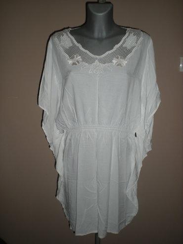 Svaku priliku haljina - Srbija: HALJINA SA LEPTIR RUKAVIMA  Predivna, čisto bela haljina sa končanim v