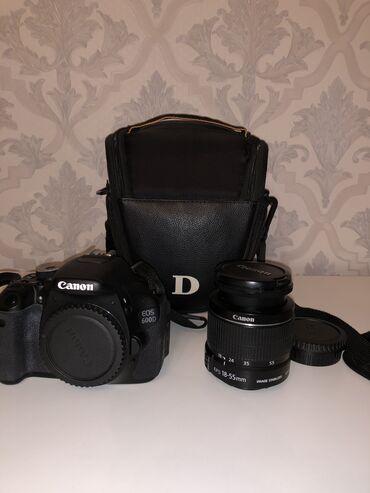 canon-efs-18-135mm в Кыргызстан: Зеркальный фотоаппарат Canon EOS 600 D. Производство Япония. Продается