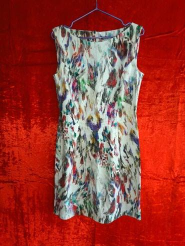 Итальянское платье-футляр от Moyto Italia. Принт - абстракция. в Бишкек
