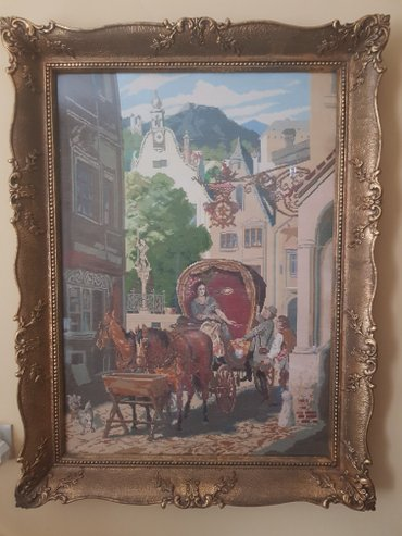 Slike | Valjevo: Vilerov goblen svadbarska kocija 83×58 hitno,dogovor