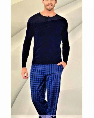 Домашние костюмы - Кыргызстан: Мужской комплект одежды (пижама) для дома от фирмы #aydoğan