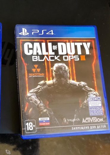 Продаю диск на Сони, Sony PS4. Игровые. Call of duty. в Лебединовка