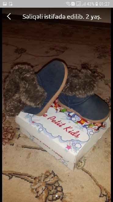 детская обувь 2 года в Азербайджан: 2 yaş
