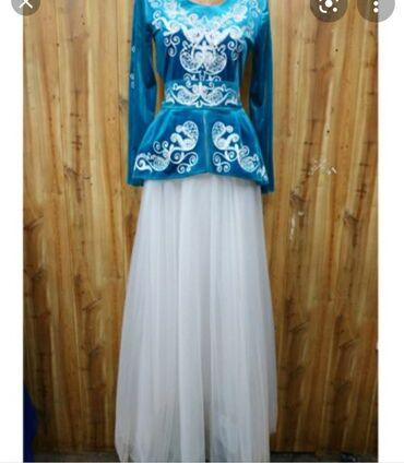 """Личные вещи - Ноокат: Продам платье,изумрудного цвета. Одевала 1 раз на""""Кыз узатуу"""""""