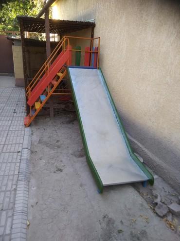 детский частный сад в Кыргызстан: Угловые горки для детей! любые размеры, на любой возраст!!! хорошее