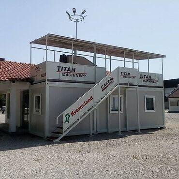 Nekretnine - Srbija: Argus EKONOMIK, kontejneri sa krovom od sendvič panelaNas kontejner