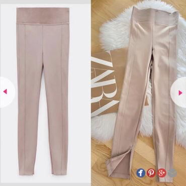 Sako sa - Srbija: Nove Zara helanke-pantalone nikad nosene, sa etiketom. Velicina XS