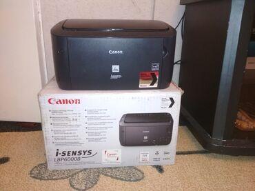 Принтер Canon i-sensys LBP6000B почти новыйв отличном состоянии
