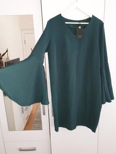 Haljine - Sremska Mitrovica: Nova Maxers haljina sa etiketom. Boja tamno zelena. Veličina 42