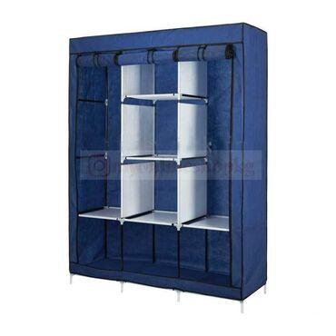 Тканевые сборные шкафы. Мобильные гардеробы  для дома, дачи и путешест