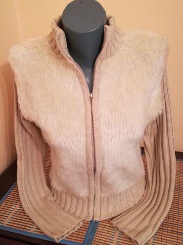Jaknica džemper M-Od ramena do ramena: 41 cm-Od pazuha do pazuha: 43