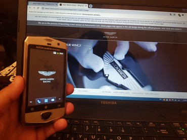Aston martin db7 59 mt - Azərbaycan: Original Aston Martin Racing mobil telefonu satilir. Android emeliyyat