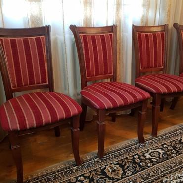 Продаю стулья для гостиной, карагач, в Бишкек