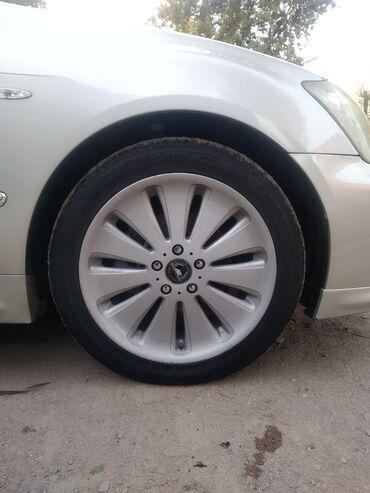 диски 18 в Кыргызстан: Продаю диски с шинами 18 размер, состояние отличное
