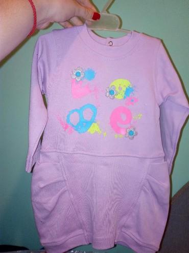 Dečija odeća i obuća | Krusevac: Nova, pamucna haljinica (Fim)  vel. 74