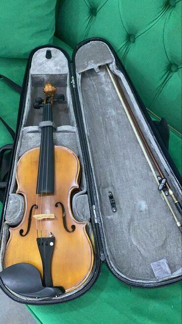 Спорт и хобби - Беш-Кюнгей: Продаю скрипку!!! Состояние отличное!!! Размер половинка!!!