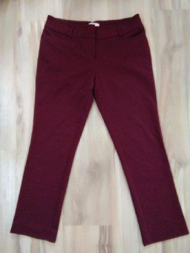 Pantalone struk elastina - Srbija: Bordo elegantne pantalone 38 broj (imaju elastina)Mere:Struk 40