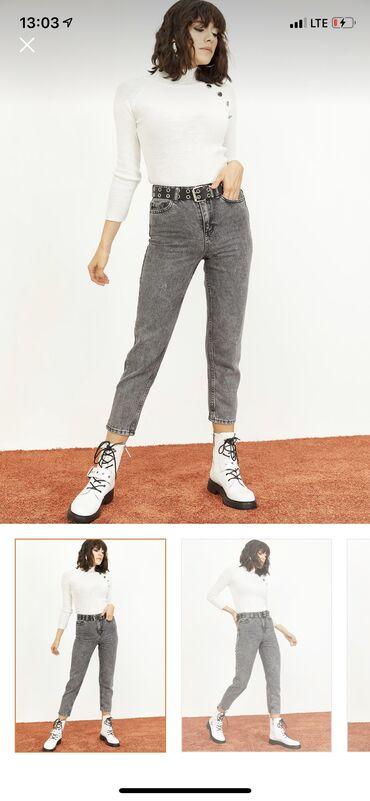 Продаю джинсы новые, mom fit. размер 25/26 либо xs/s. производство