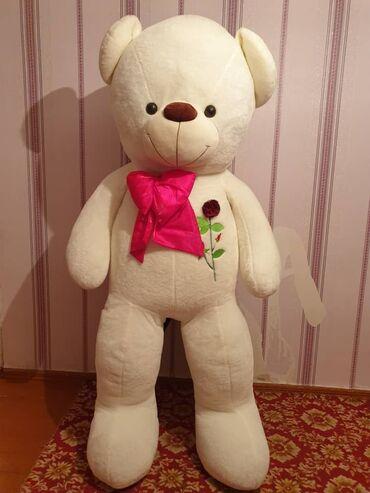 Продаю мишку белый 2метровый из Турции идеальном состоянии