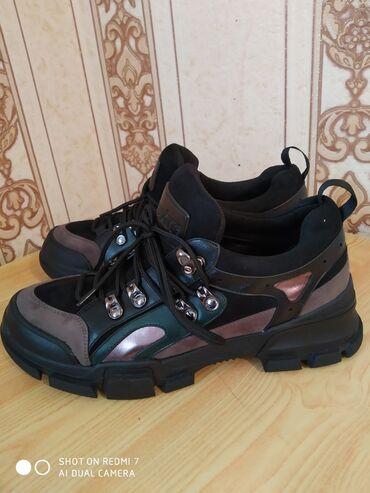 Спортивная обувь от фирмы Мascotte, размер 37-38 натуральная кожа и