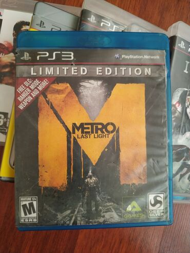 "Sony Playstation 3 Modelleri Üçün ""METRO LAST LİGHT"" Original Oyun"