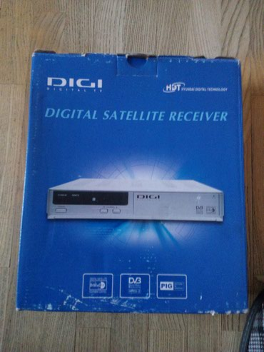 Farmerice dig - Srbija: Digi satelitski tv prijemnik sa karticom dv3 ispravan koristen samo