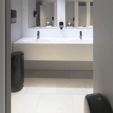 Оформление туалетных комнат, профессиональным оборудованием TORK. В