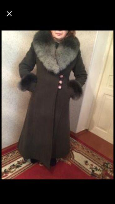 бу вечернее платье размер 46 в Кыргызстан: Пальто сатылатразмер 46