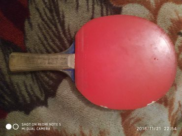 Ракетка для настольного тенниса БУ 600 в Бишкек