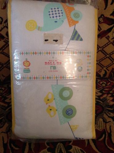 бортики для кроватки в Азербайджан: Одеяло и бортики не использовалисьтак как у на не люлька а кровать