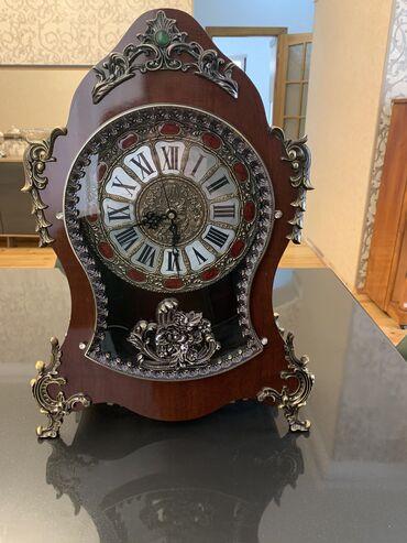 Антикварные часы - Азербайджан: Klassik üslubda saat. 170 manata alınıb. Demək olar ki işlədilməyib