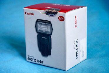 canon eos 5d mark ii в Азербайджан: Canon speedlite 600EX II-RT İşlənməyib. İstifadə etmədiyim üçün